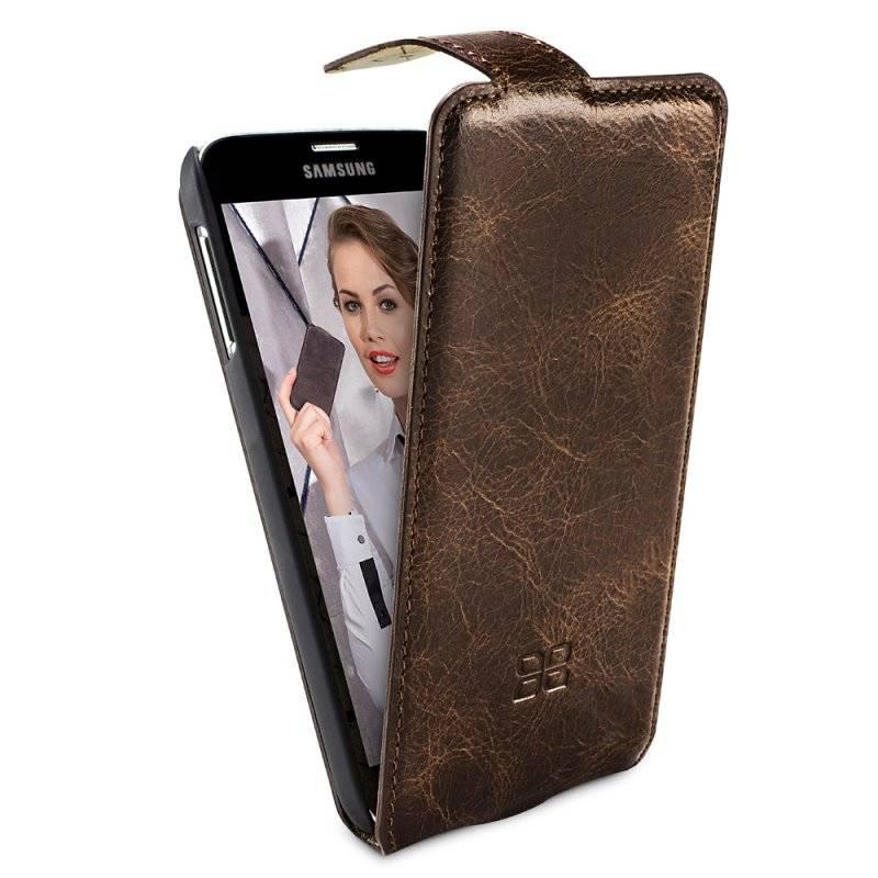 Bouletta Bouletta - Samsung Galaxy S6 Edge FlipCase (Vessel Brown)