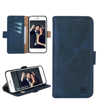Bouletta Bouletta - iPhone 8 BookCase (Antic Blue)