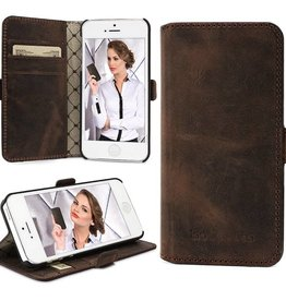 Bouletta Bouletta - iPhone 5(S) & SE WalletCase N.E. (Antic Coffee)