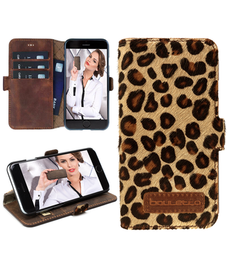 Bouletta Bouletta - Apple iPhone 8 BookCase (Furry Leopard)