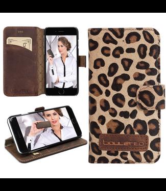 Bouletta Bouletta - iPhone 8 Plus BookCase (Furry Leopard)