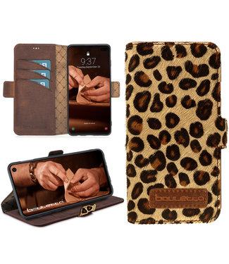 Bouletta Bouletta - Samsung Galaxy S10 Plus Book Case (Furry Leopard)