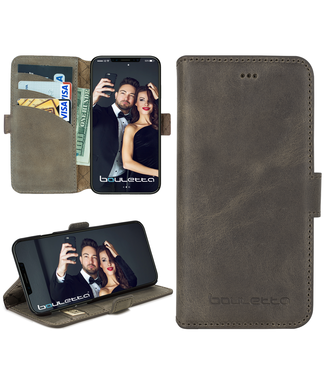 Bouletta Bouletta - iPhone X(s) BookCase (Antic Grey)