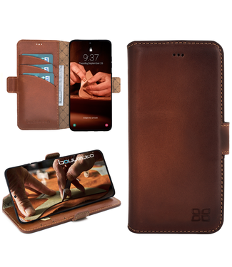 Bouletta Samsung Galaxy S20 Plus - BookCase - Burned Cognac