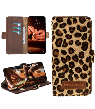 Bouletta Samsung Galaxy S20 Plus - BookCase - Furry Leopard
