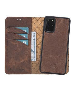 Bouletta Samsung Galaxy S20 Plus - Afneembare  2-in-1 BookCase - Antic Coffee