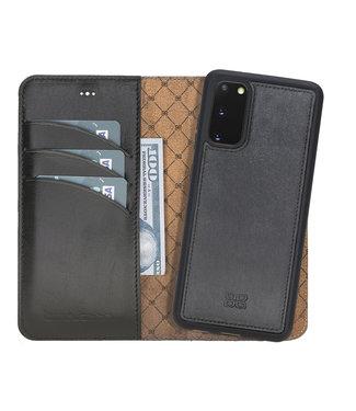 Bouletta Samsung Galaxy S20 - Afneembare  2-in-1 BookCase - Rustic Black