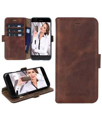Bouletta Bouletta - iPhone SE (2020) Book Case (Antic Coffee)