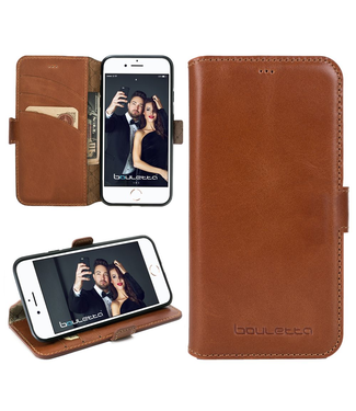 Bouletta Bouletta - iPhone SE (2020) BookCase (Rustic Cognac)