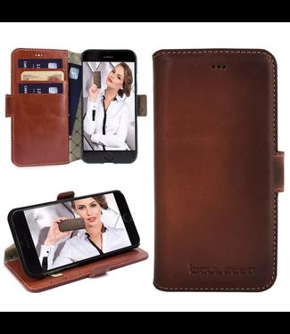 Bouletta Bouletta - iPhone SE (2020) BookCase (Burned Cognac)