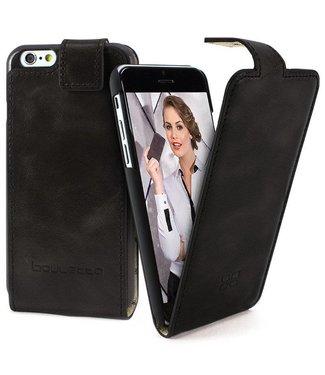 Bouletta Bouletta - iPhone SE (2020) - FlipCase (Rustic Black)