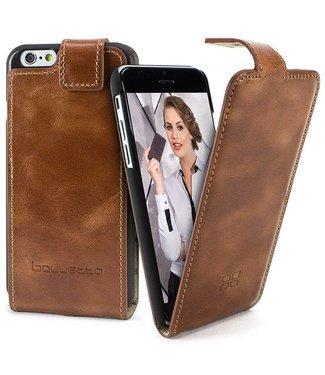 Bouletta Bouletta - iPhone SE (2020) FlipCase (Rustic Cognac)