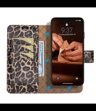Bouletta Bouletta - iPhone Xr 2-in-1 Afneembare BookCase (Smooth Leopard)