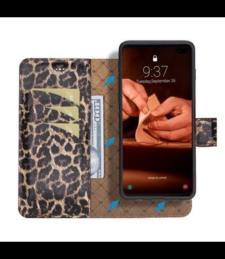 Bouletta Bouletta - Samsung Galaxy S10 - 2-in-1 Afneembare BookCase (Smooth Leopard)