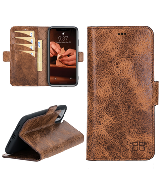 Bouletta Bouletta - iPhone 11 - BookCase (Vegetal Brown)