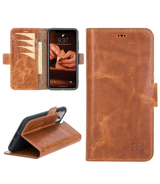 Bouletta Bouletta - iPhone 11 - BookCase (Vegetal Tan)