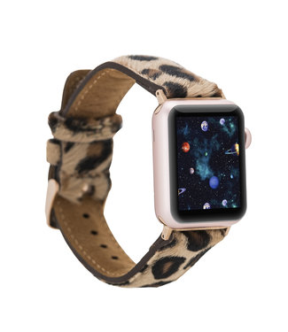 Bouletta Bouletta Classic band Apple Watch 42 mm / 44 mm 'Furry Leopard'