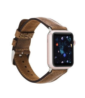 Bouletta Bouletta Classic band Apple Watch 42 mm / 44 mm 'Vegetal Brown'