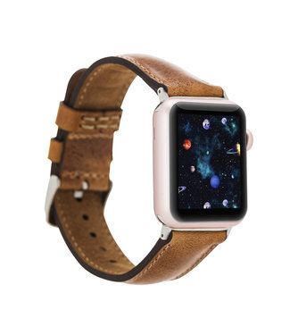 Bouletta Bouletta Classic band Apple Watch 42 mm / 44 mm 'Vegetal Tan'
