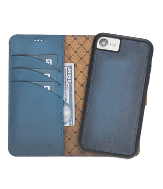 Bouletta Bouletta - iPhone SE (2020) Afneembare BookCase - Midnight Blue