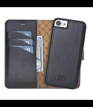 Bouletta Bouletta - iPhone SE (2020) Afneembare BookCase - Rustic Black