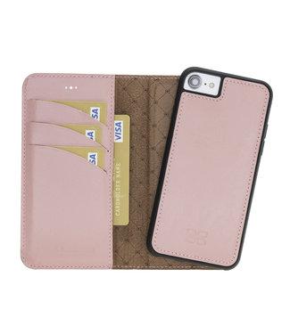 Bouletta Bouletta - iPhone 7/8 Afneembare BookCase 2-in-1  'Nude Pink'