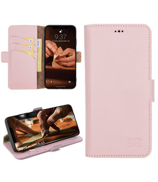 Bouletta Bouletta - iPhone 12 - BookCase (Nude Pink)