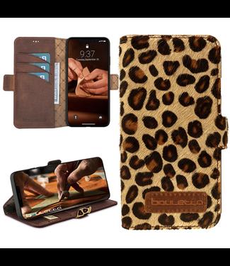 Bouletta Bouletta - iPhone 12 - BookCase (Furry Leopard)