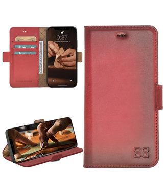 Bouletta Bouletta - iPhone 12 - BookCase (Burned Red)