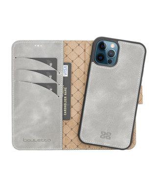 Bouletta Bouletta - iPhone 12 Pro - Uitneembare BookCase - Future Grey