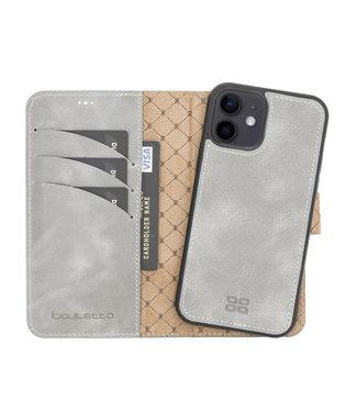Bouletta Bouletta - iPhone 12 - 2-in-1 Afneembare BookCase - Future Grey