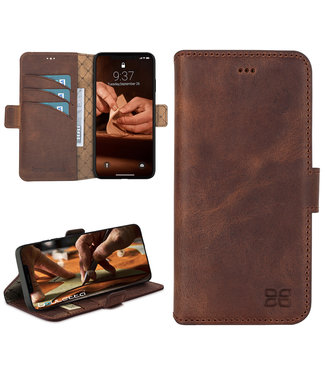 Bouletta Bouletta - iPhone 12 Pro Max - BookCase (Antic Coffee)
