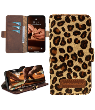 Bouletta Bouletta - iPhone 12 Pro - BookCase (Furry Leopard)