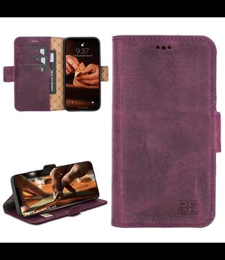 Bouletta Bouletta - iPhone 12 Pro Max - BookCase (Antique Purple)