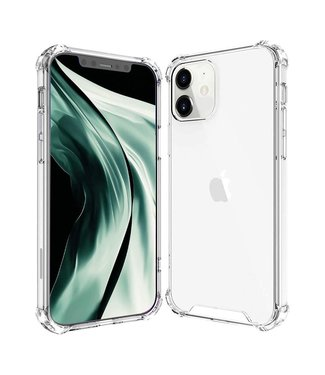 Perfeqt iPhone 12 - Transparant - Siliconen hoesje