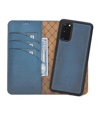 Bouletta Samsung G. S21 -  Midnight Blue - Uitneembare BookCase
