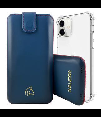 Pulledro Pulledro - iPhone 13 (Pro) - Leder Pouch & BackCover - Reȸlue