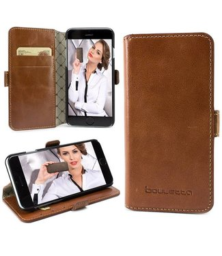 Bouletta Bouletta - iPhone 6(S) Plus WalletCase (Rustic Cognac)