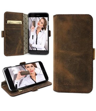 Bouletta Bouletta - iPhone 6(S) Plus WalletCase (Antic Coffee)