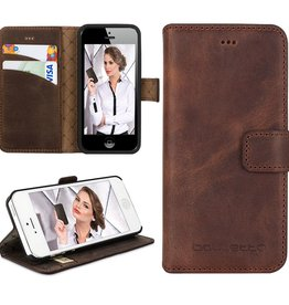 Bouletta Bouletta - iPhone 5(S) & SE WalletCase (Antic Brown)