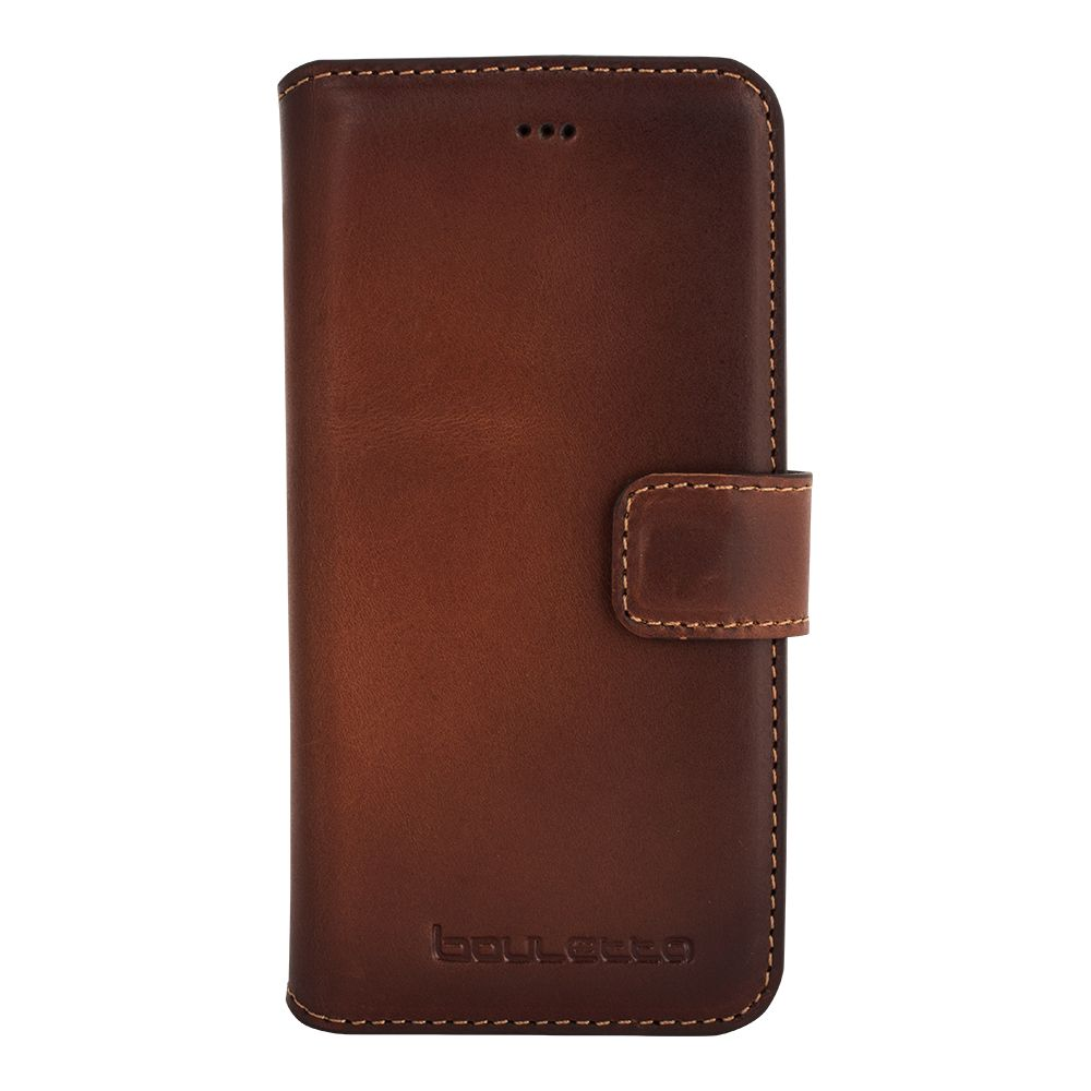 Bouletta Bouletta - Apple iPhone 7 WalletCase (Burned Cognac)