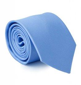 Stropdas licht-blauw, zijde