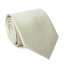 Stropdas ivoor-wit, zijde
