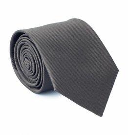 Stropdas antraciet-grijs, zijde