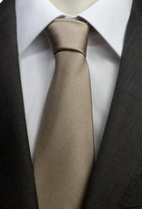 Goud/bruine stropdas
