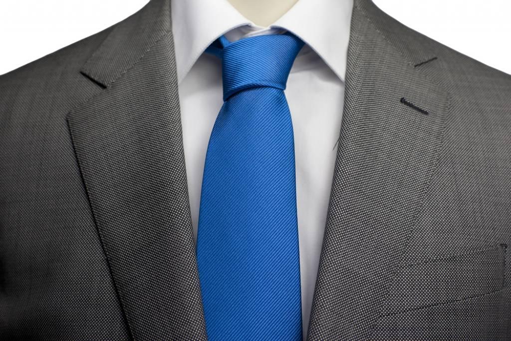 Blauwe stropdas