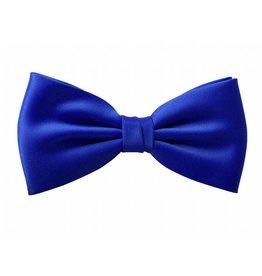 Strik effen kobalt- blauw