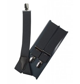 Bretels, antraciet grijs, breed (36mm)