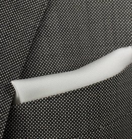 Pochette, wit, zijde