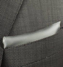 Pochette, antraciet grijs, zijde
